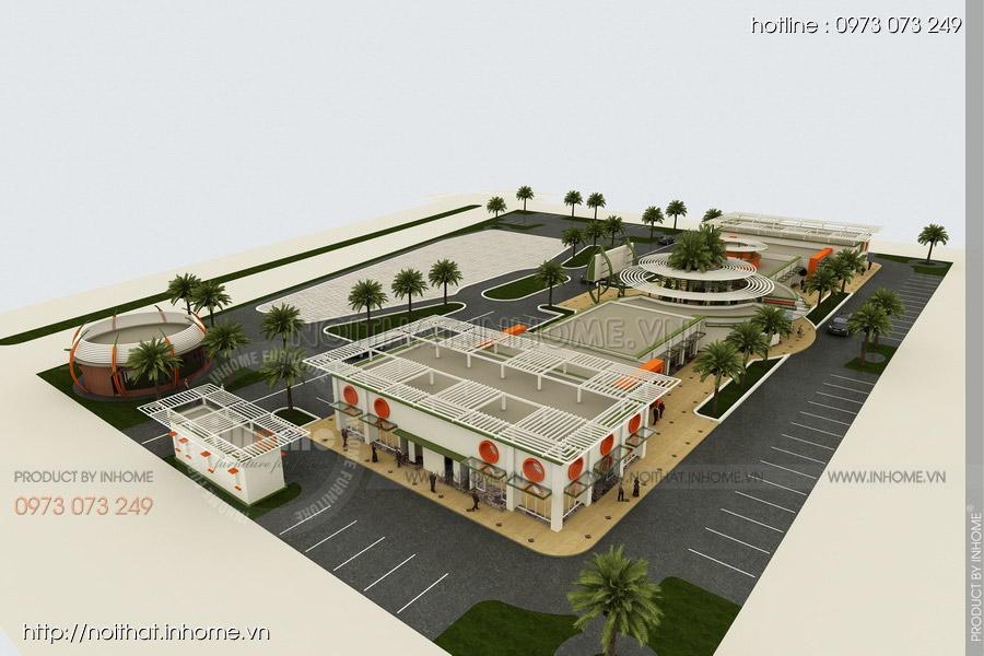 Thiết kế kiến trúc Attapeu Plaza 04