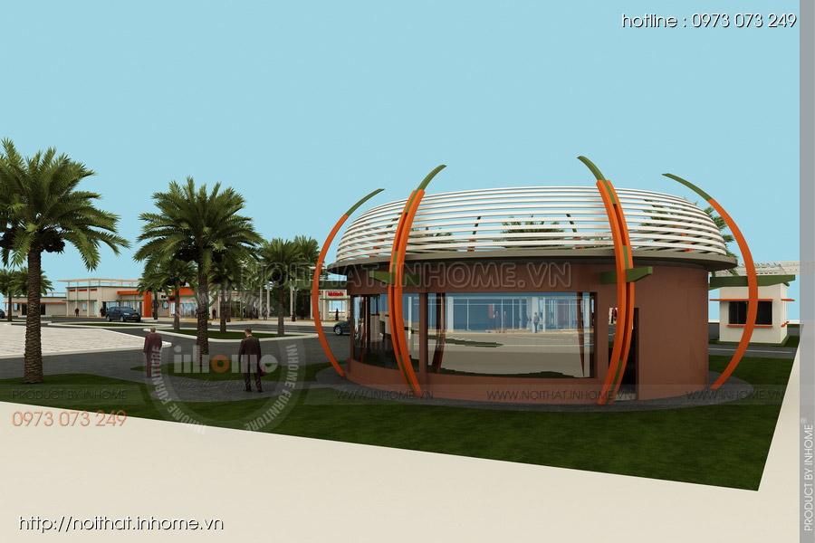 Thiết kế kiến trúc Attapeu Plaza 05