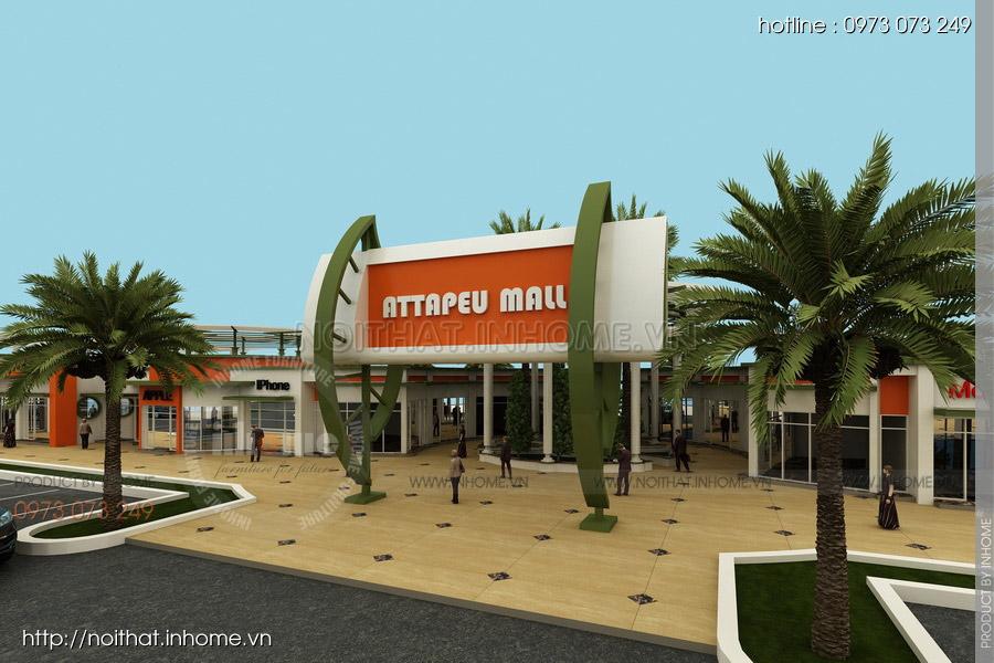 Thiết kế kiến trúc Attapeu Plaza 07