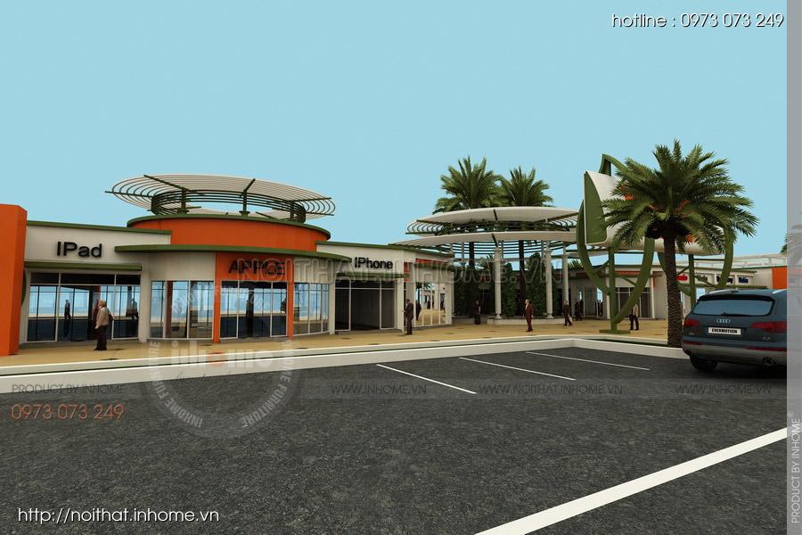 Thiết kế kiến trúc Attapeu Plaza 08