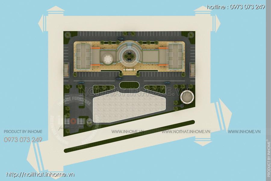 Thiết kế kiến trúc Attapeu Plaza 09