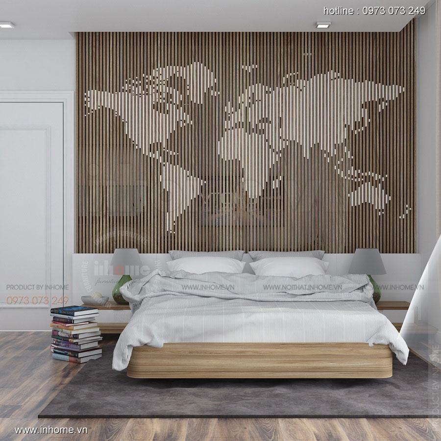 Thiết kế nội thất Biệt thự Ecopark: Giường ngủ cao cấp