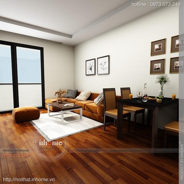 Thiết kế nội thất chung cư Times City 03