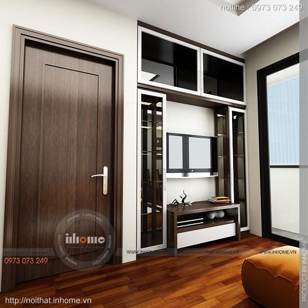 Thiết kế nội thất chung cư Times City 06