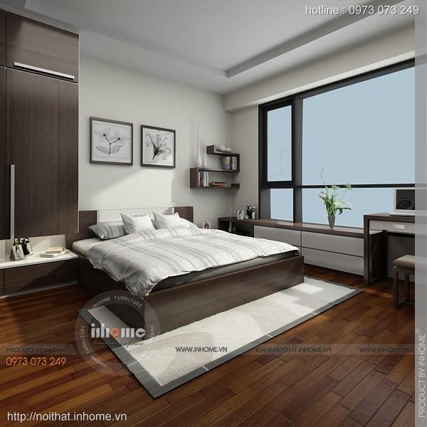 Thiết kế nội thất chung cư Times City 08