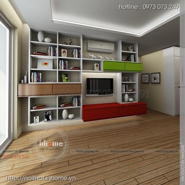 Thiết kế nội thất chung cư Nguyễn Huy Tưởng 01