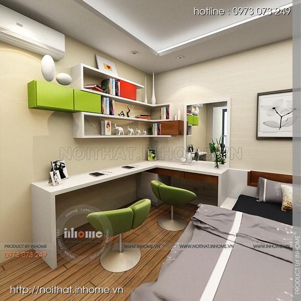 Thiết kế nội thất chung cư Nguyễn Huy Tưởng 04