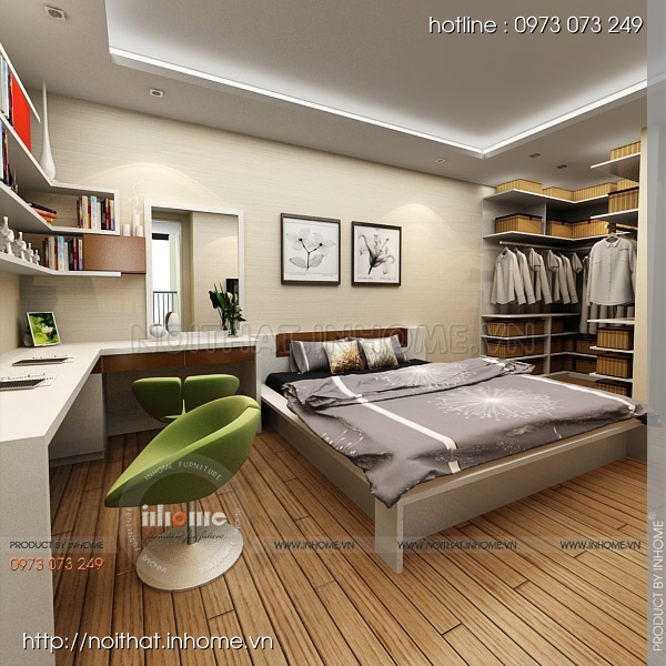Thiết kế nội thất chung cư Nguyễn Huy Tưởng 06