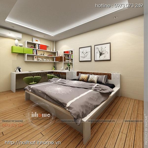 Thiết kế nội thất chung cư Nguyễn Huy Tưởng 07