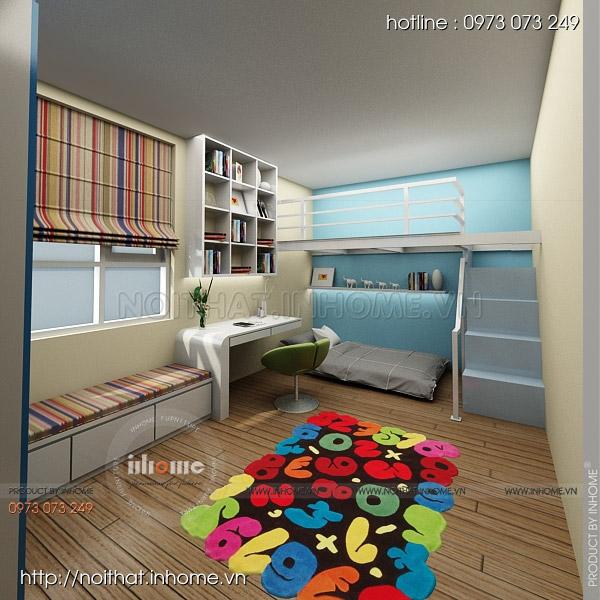 Thiết kế nội thất chung cư Nguyễn Huy Tưởng 11