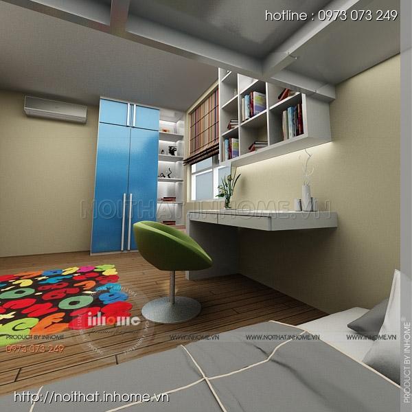 Thiết kế nội thất chung cư Nguyễn Huy Tưởng 12