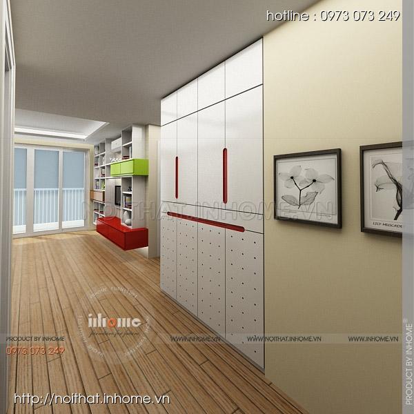 Thiết kế nội thất chung cư Nguyễn Huy Tưởng 02