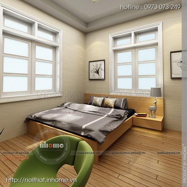 Thiết kế nội thất nhà chia lô Văn Quán 01