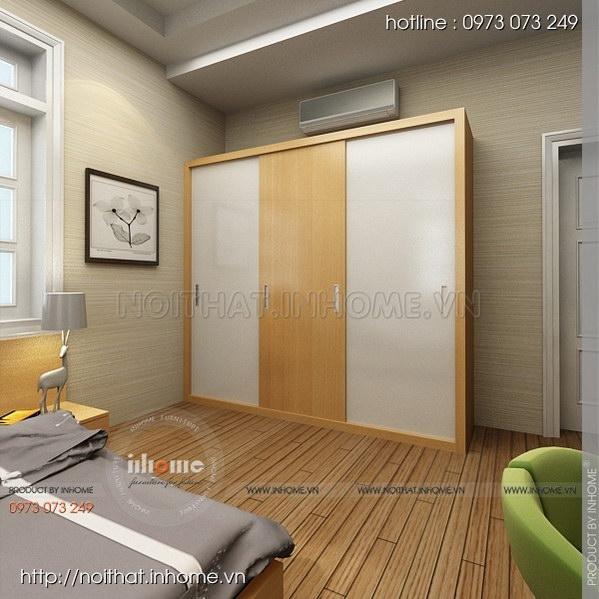 Thiết kế nội thất nhà chia lô Văn Quán 03