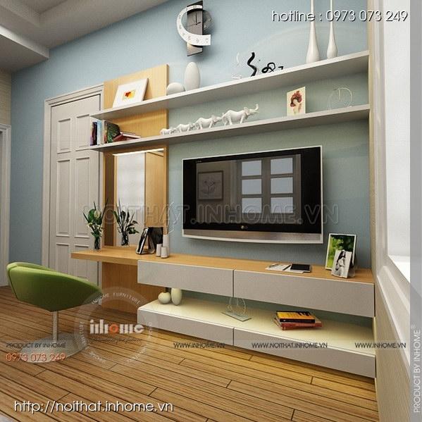 Thiết kế nội thất nhà chia lô Văn Quán 04