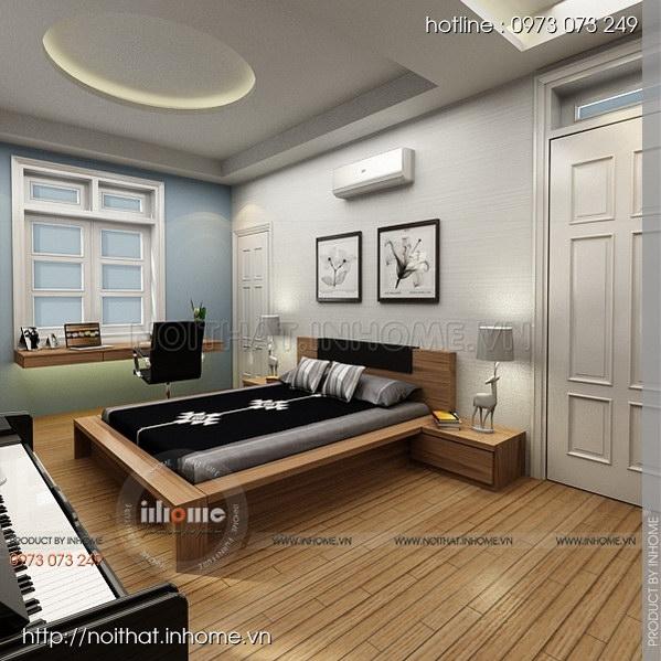 Thiết kế nội thất nhà chia lô Văn Quán 06
