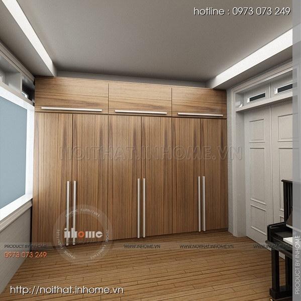 Thiết kế nội thất nhà chia lô Văn Quán 08