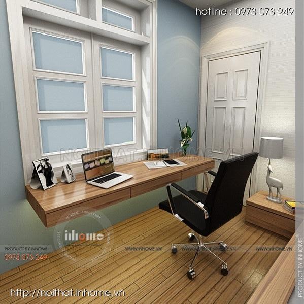 Thiết kế nội thất nhà chia lô Văn Quán 09