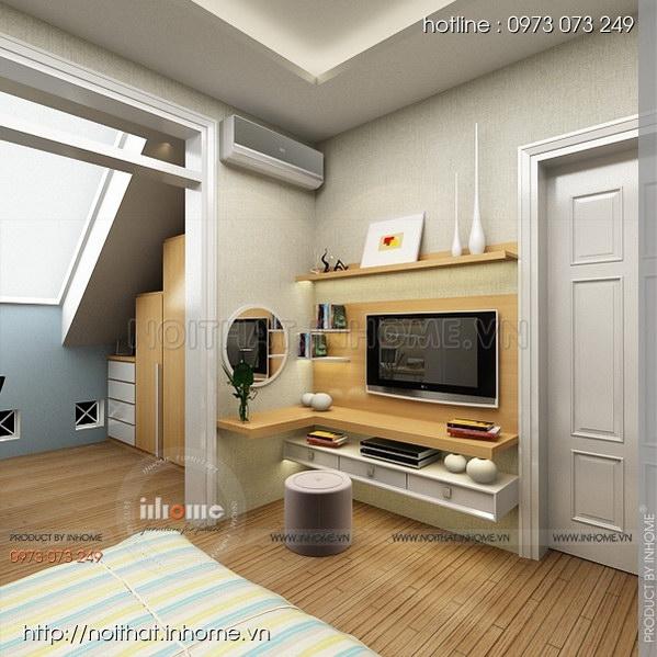 Thiết kế nội thất nhà chia lô Văn Quán 11