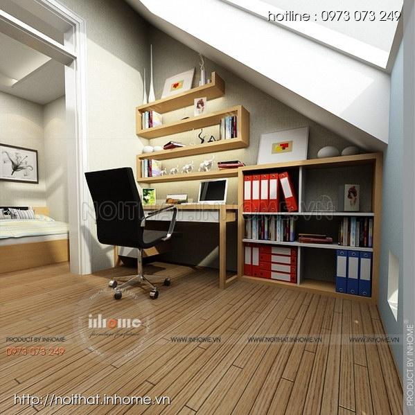Thiết kế nội thất nhà chia lô Văn Quán 13