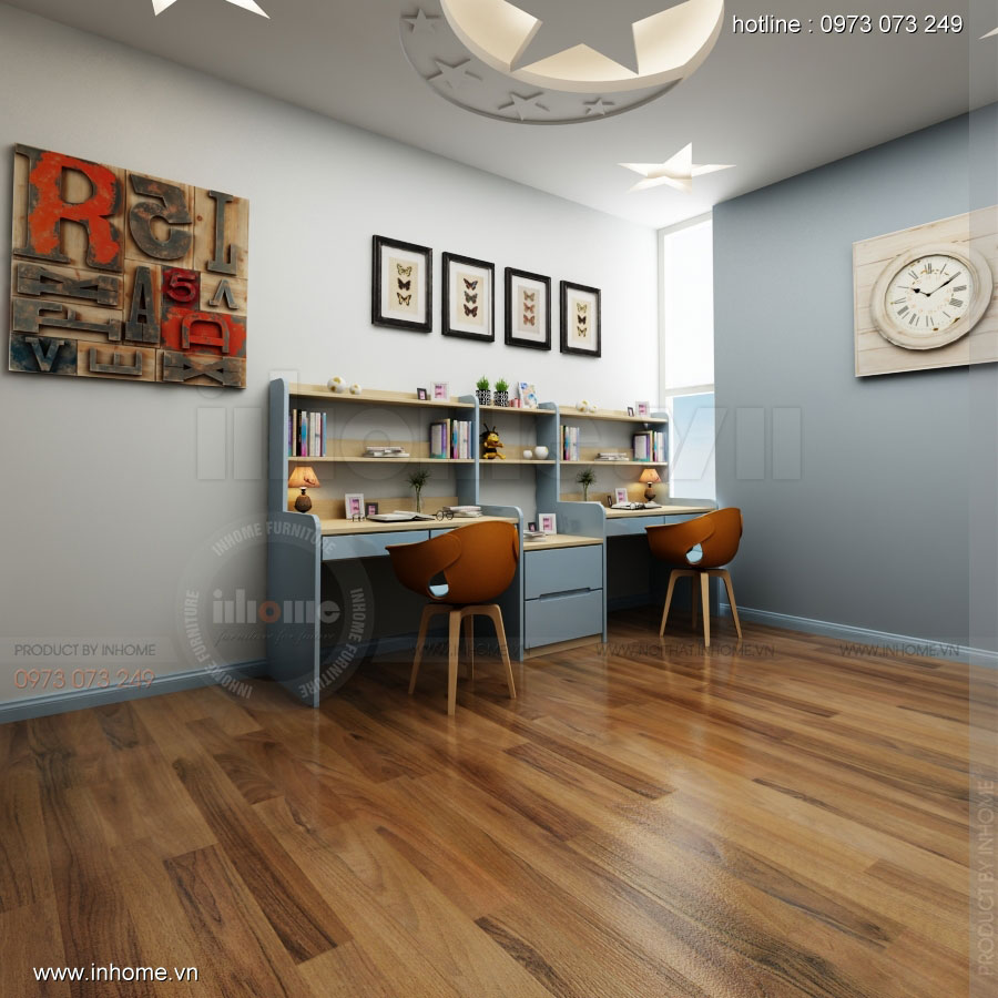 Thiết kế nội thất phòng ngủ nhà lô phố 04