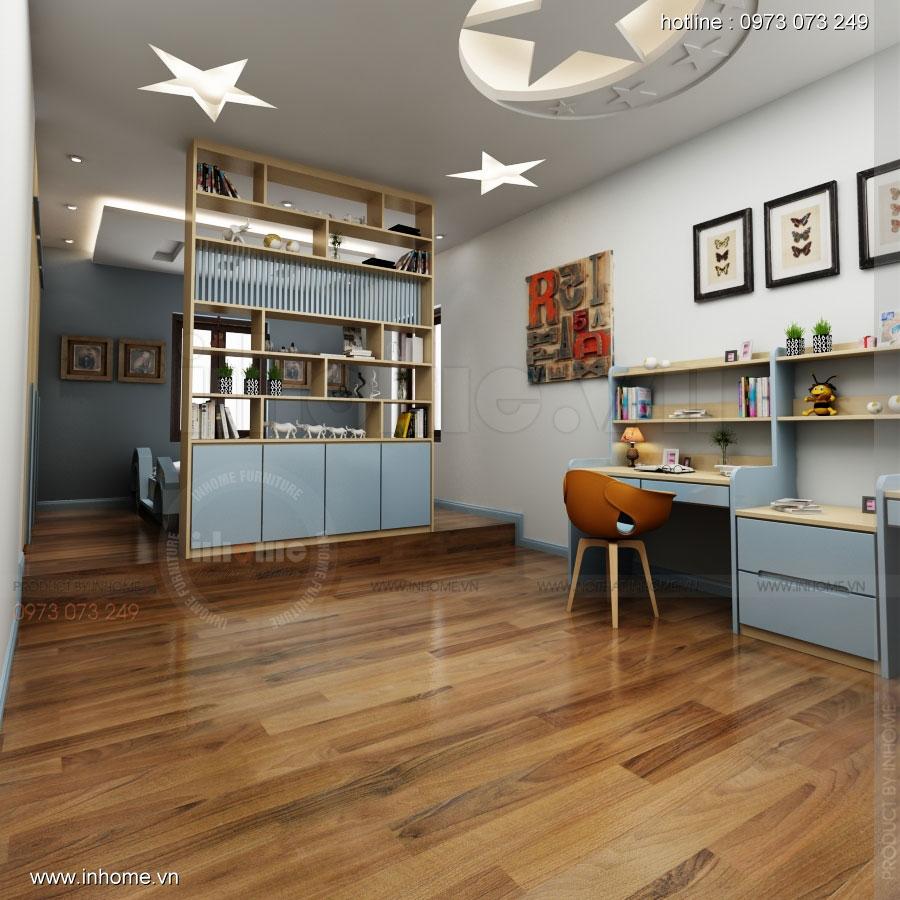 Thiết kế nội thất phòng ngủ nhà lô phố 05