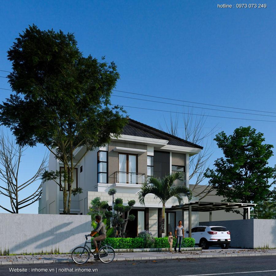 Thiết kế, dựng xây nhà biệt thự mini - có khó như bạn tưởng?