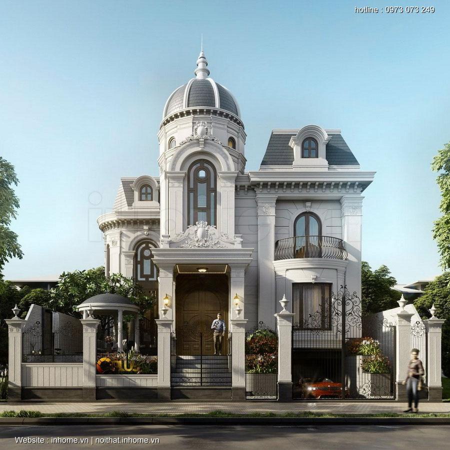 Thiết kế biệt thự phong cách tân cổ điển