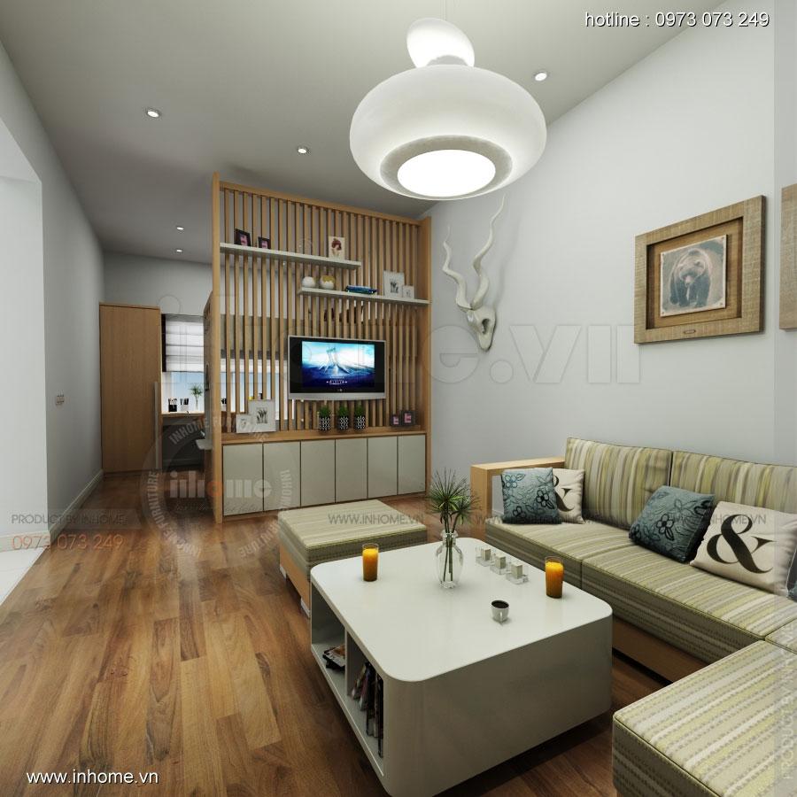 Thiết kế nội thất chung cư Đặng Xá 01