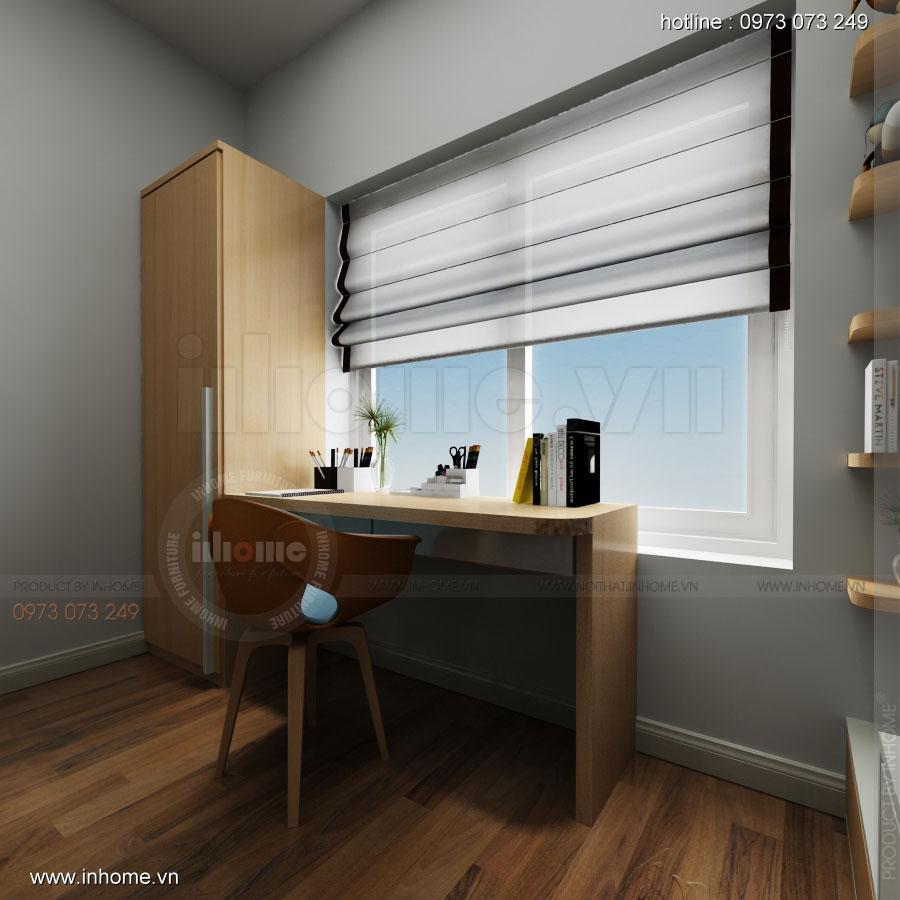 Thiết kế nội thất chung cư Đặng Xá 11