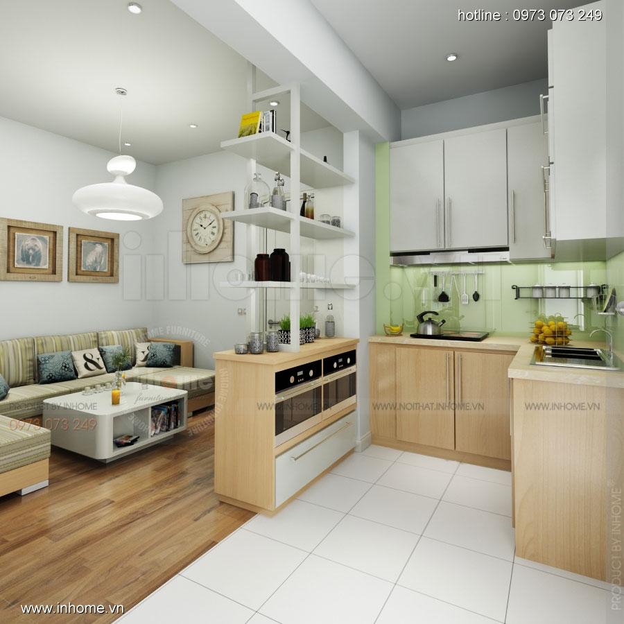 Thiết kế nội thất chung cư Đặng Xá 02