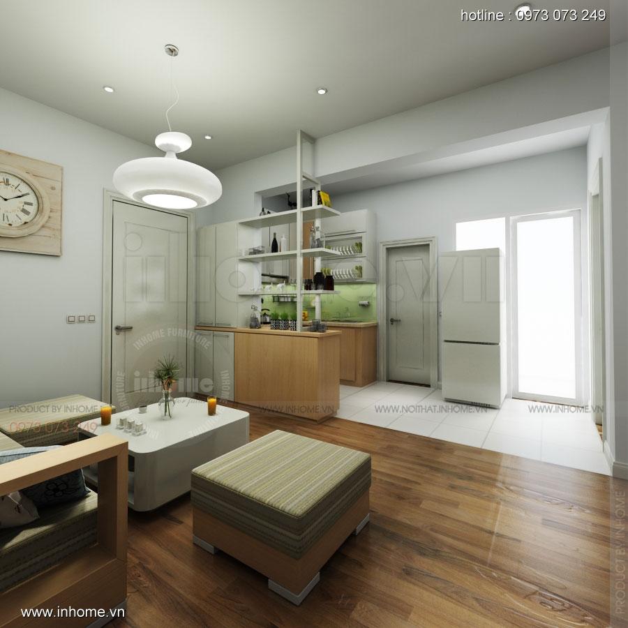 Thiết kế nội thất chung cư Đặng Xá 03