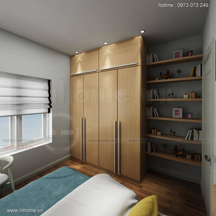 Thiết kế nội thất chung cư Đặng Xá 06