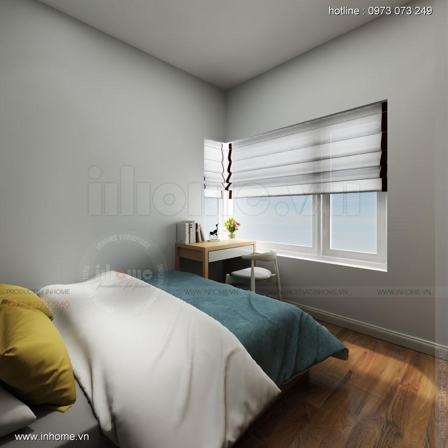 Thiết kế nội thất chung cư Đặng Xá 08