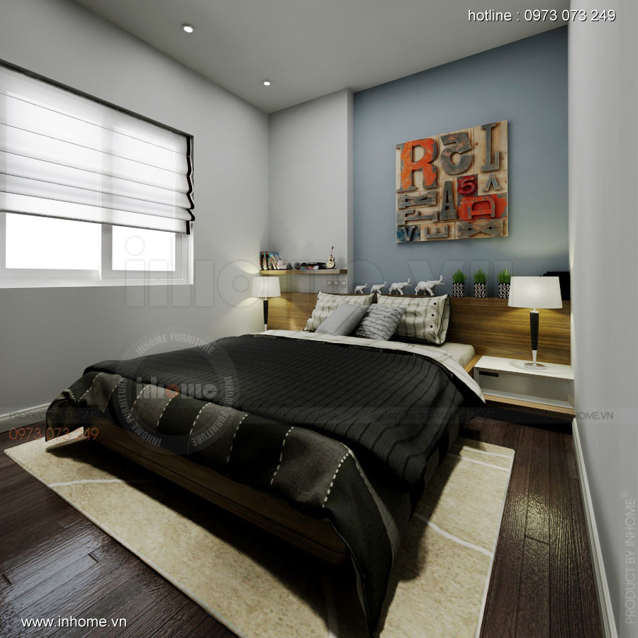 Thiết kế nội thất chung cư Linh Đàm 07
