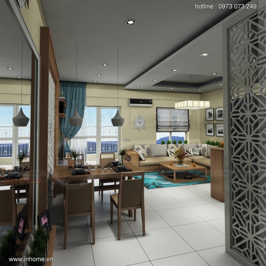 Thiết kế nội thất chung cư Lotus Lake View 02