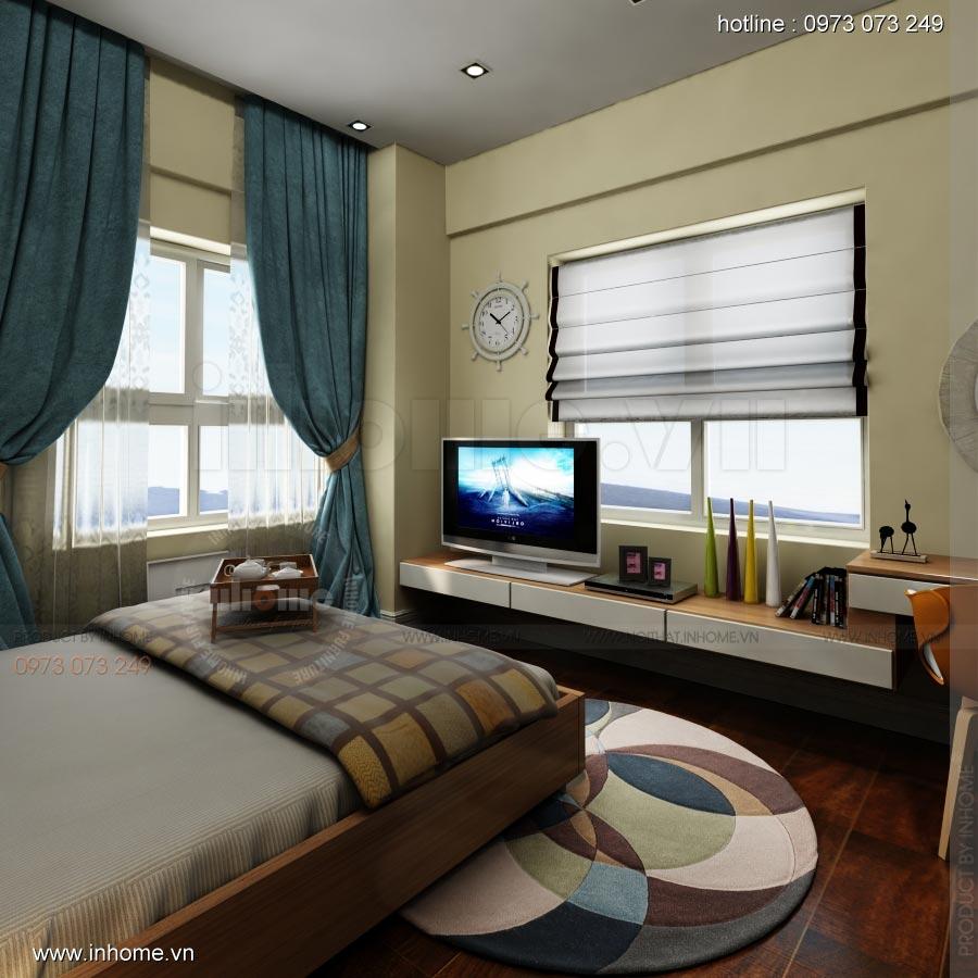 Thiết kế nội thất chung cư Lotus Lake View 11