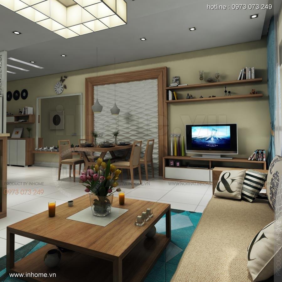 Thiết kế nội thất chung cư Lotus Lake View 06