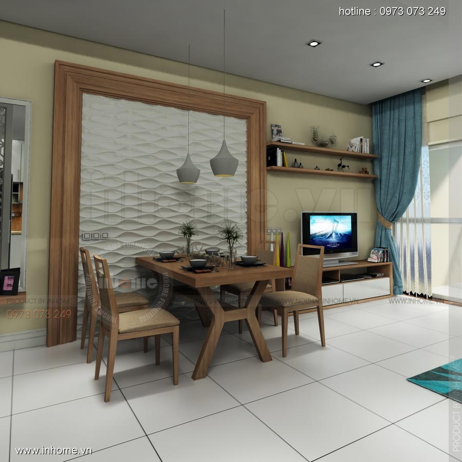 Thiết kế nội thất chung cư Lotus Lake View 05