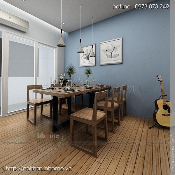 Thiết kế nội thất chung cư Trường Chinh 07