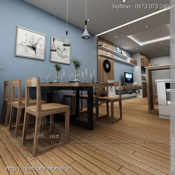 Thiết kế nội thất chung cư Trường Chinh 05