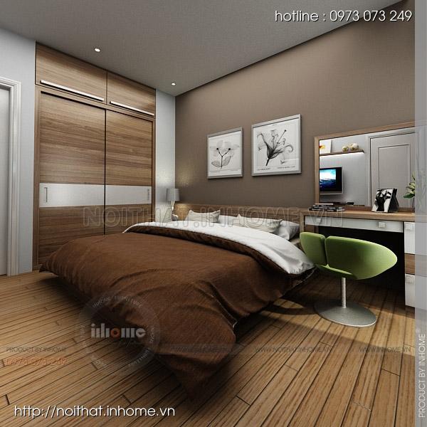 Thiết kế nội thất chung cư Trường Chinh 09