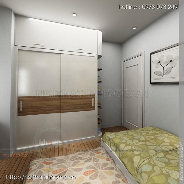 Thiết kế nội thất chung cư Trường Chinh 12