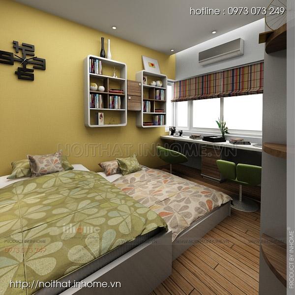 Thiết kế nội thất chung cư Trường Chinh 14