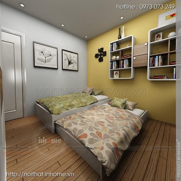 Thiết kế nội thất chung cư Trường Chinh 15