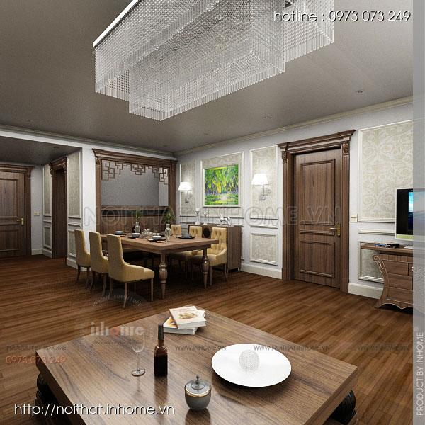 Thiết kế nội thất chung cư 88 Láng Hạ 08