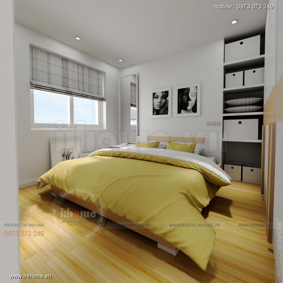 Thiết kế nội thất chung cư C14 Bộ Công An 05