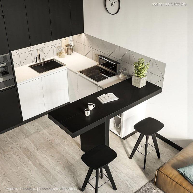 Top mẫu thiết kế nội thất chung cư 75m2 đẹp 03