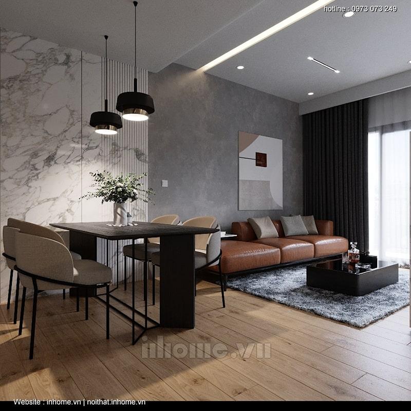 Mẫu thiết kế nội thất chung cư Green Star đẹp sang trọng mà hiện đại
