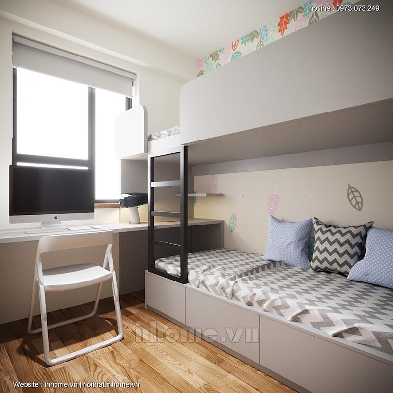 Phòng ngủ đáng yêu cho bé